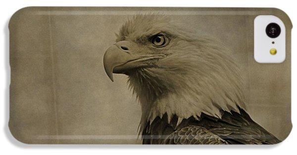 Sepia Bald Eagle Portrait IPhone 5c Case
