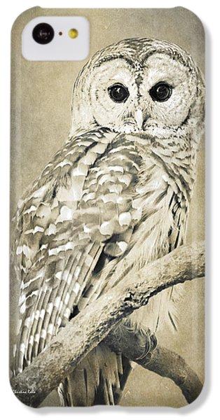 Sepia Owl IPhone 5c Case