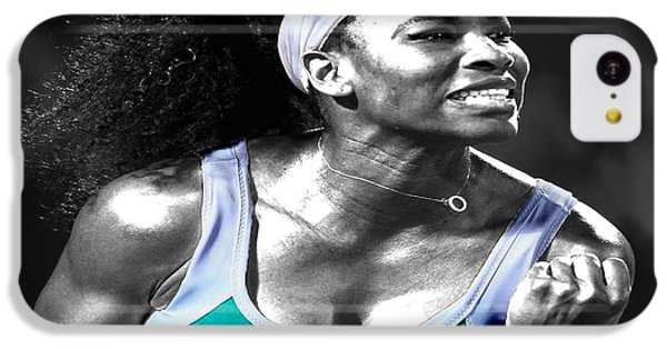 Serena Williams Ace IPhone 5c Case by Brian Reaves