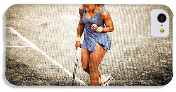 Serena Williams Count It IPhone 5c Case by Brian Reaves