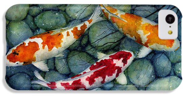 Serenity Koi IPhone 5c Case by Hailey E Herrera
