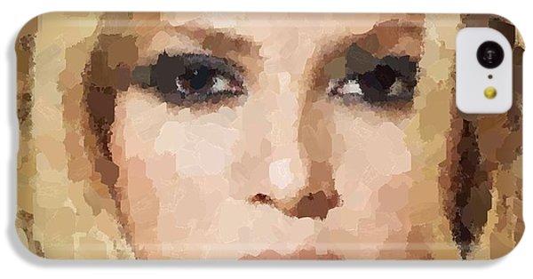 Shakira Portrait IPhone 5c Case by Samuel Majcen
