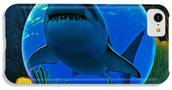 Hammerhead Shark iPhone 5c Case - Shark World  by Robin Moline