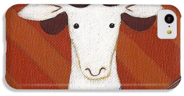 Sheep iPhone 5c Case - Sheep Guitar by Christy Beckwith
