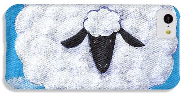 Sheep Nursery Art IPhone 5c Case by Christy Beckwith