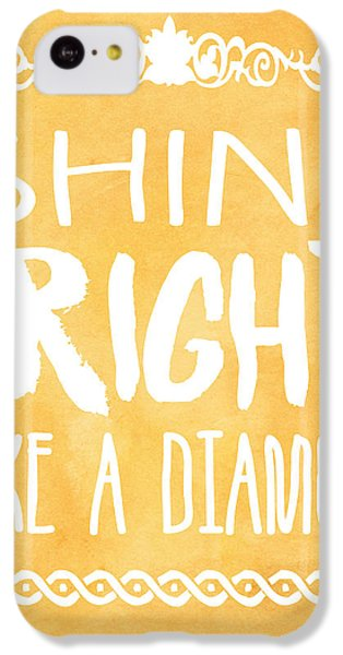 Shine Bright Orange IPhone 5c Case by Pati Photography