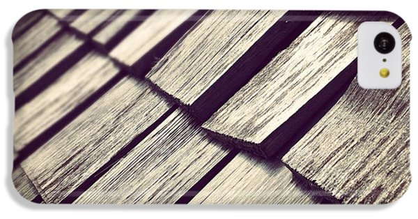 Architecture iPhone 5c Case - Shingles by Christy Beckwith
