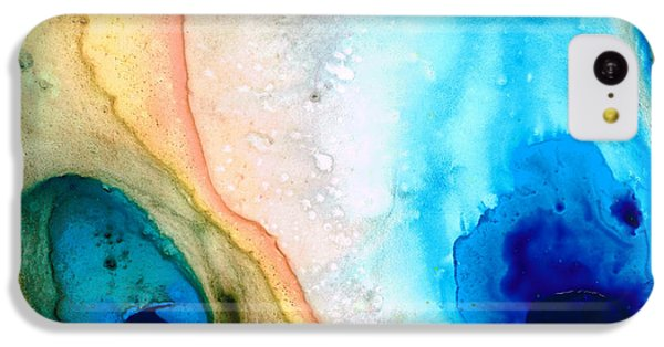 Shoreline - Abstract Art By Sharon Cummings IPhone 5c Case