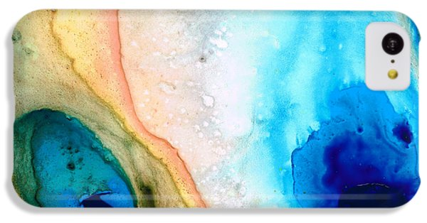 Shoreline - Abstract Art By Sharon Cummings IPhone 5c Case by Sharon Cummings