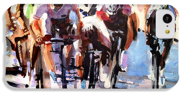 Bicycle iPhone 5c Case - Short Sharp Sprint by Shirley  Peters