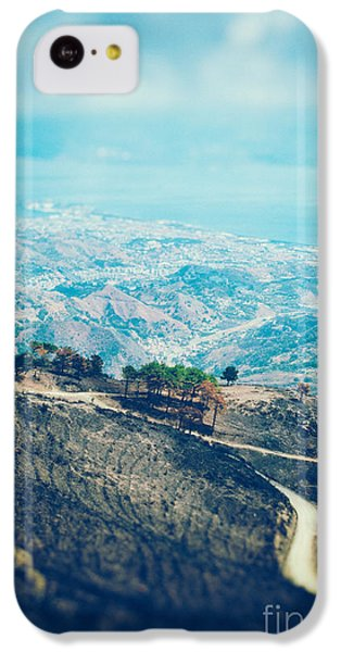 IPhone 5c Case featuring the photograph Sicilian Land After Fire by Silvia Ganora