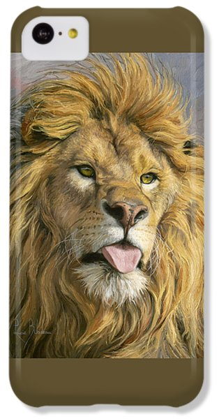 Animal iPhone 5c Case - Silly Face by Lucie Bilodeau