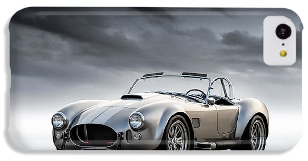 Silver Ac Cobra IPhone 5c Case by Douglas Pittman