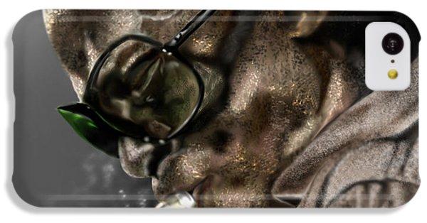 Saxophone iPhone 5c Case - Simply Miles by Reggie Duffie