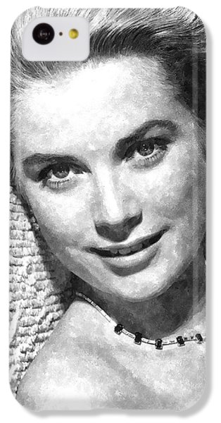Simply Stunning Grace Kelly IPhone 5c Case by Florian Rodarte