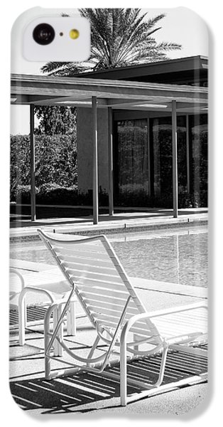 Sinatra Pool Bw Palm Springs IPhone 5c Case