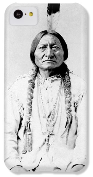 Landmarks iPhone 5c Case - Sioux Chief Sitting Bull by War Is Hell Store