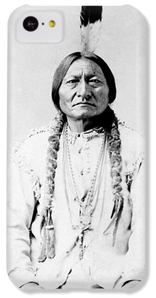 Bull iPhone 5c Case - Sioux Chief Sitting Bull by War Is Hell Store