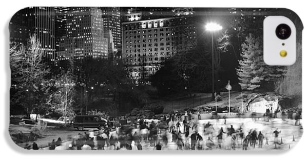 New York City - Skating Rink - Monochrome IPhone 5c Case
