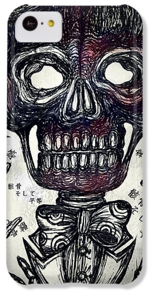 Skull And Equality IPhone 5c Case by Akiko Okabe
