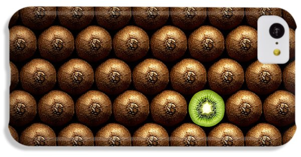 Sliced Kiwi Between Group IPhone 5c Case by Johan Swanepoel