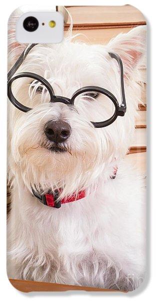 Smart Doggie IPhone 5c Case by Edward Fielding