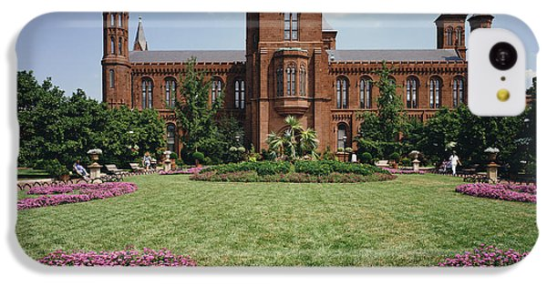 Smithsonian Institution Building IPhone 5c Case by Rafael Macia