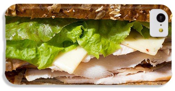 Smoked Turkey Sandwich IPhone 5c Case by Edward Fielding