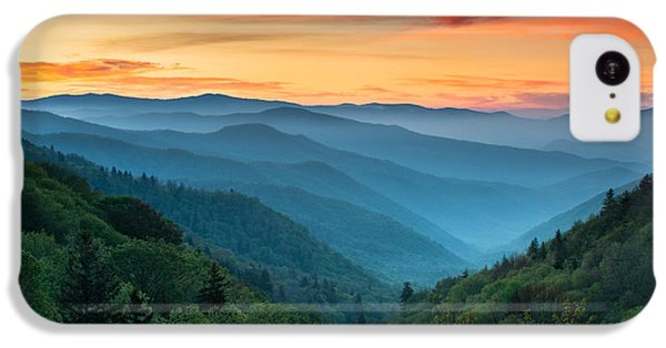 Mountain iPhone 5c Case - Smoky Mountains Sunrise - Great Smoky Mountains National Park by Dave Allen