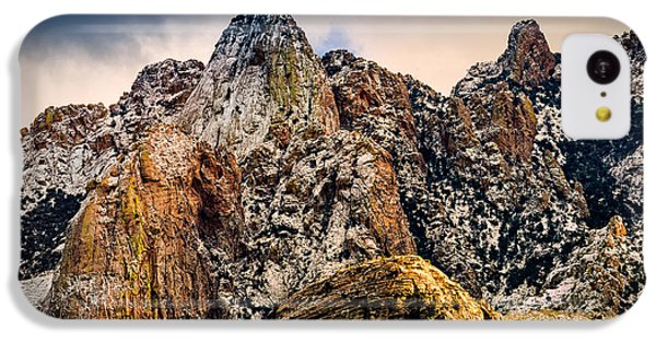 IPhone 5c Case featuring the photograph Snow On Peaks 45 by Mark Myhaver