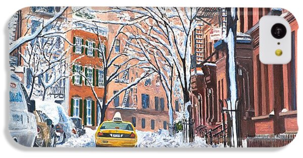 Snow West Village New York City IPhone 5c Case