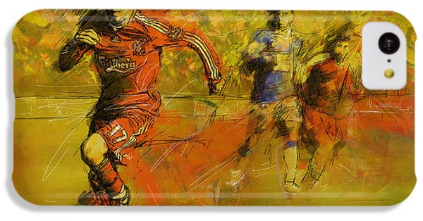 Soccer  IPhone 5c Case by Corporate Art Task Force
