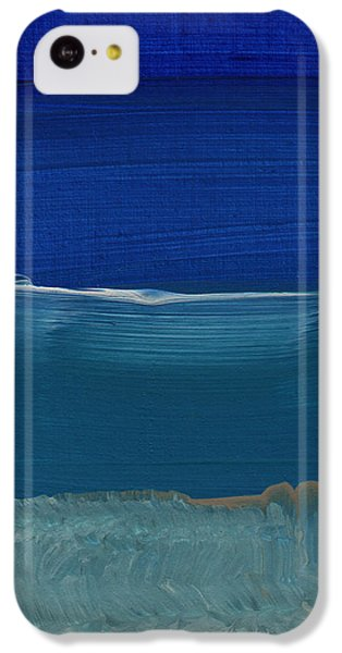 Soft Crashing Waves- Abstract Landscape IPhone 5c Case by Linda Woods