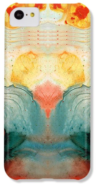Soul Star - Abstract Art By Sharon Cummings IPhone 5c Case by Sharon Cummings