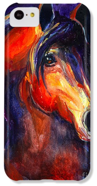 Soulful Horse Painting IPhone 5c Case