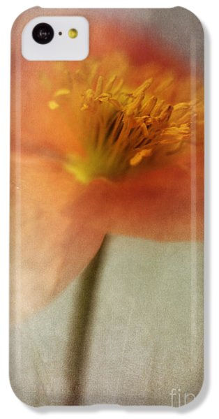 Portraits iPhone 5c Case - Soulful Poppy by Priska Wettstein