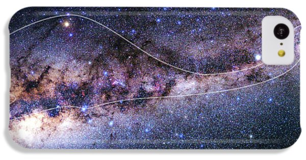 Southern Milky Way IPhone 5c Case