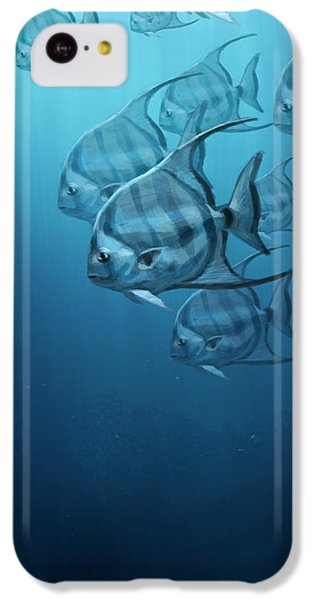 Spade Fish IPhone 5c Case by Aaron Blaise