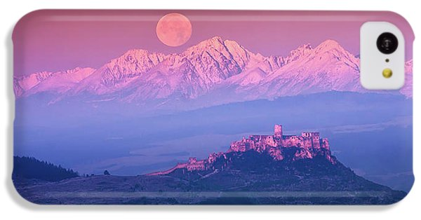Mountain iPhone 5c Case - Spia? Fairy Tale by Marian Kmet