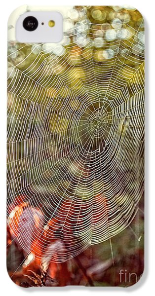Spider Web IPhone 5c Case by Edward Fielding