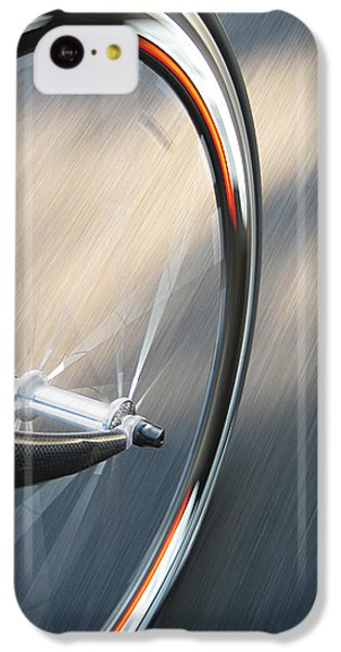 Bicycle iPhone 5c Case - Spin by Jeff Klingler