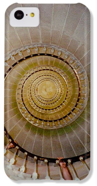 Spirale Du Phare Des Baleines Version Carree IPhone 5c Case