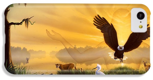 Spirit Of The Everglades IPhone 5c Case by Jerry LoFaro