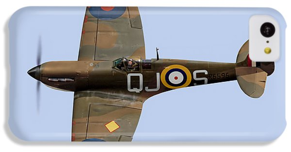 Spitfire Mk 1 R6596 Qj-s IPhone 5c Case by Gary Eason