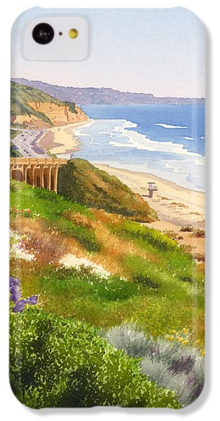 Planets iPhone 5c Case - Spring View Of Torrey Pines by Mary Helmreich