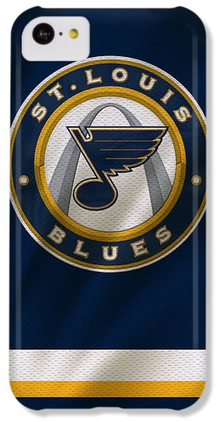 St Louis Blues Uniform IPhone 5c Case by Joe Hamilton