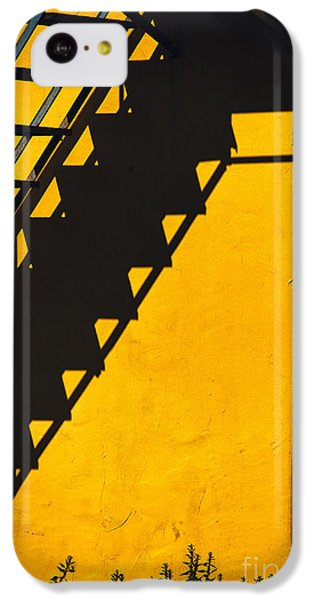 IPhone 5c Case featuring the photograph Staircase Shadow by Silvia Ganora