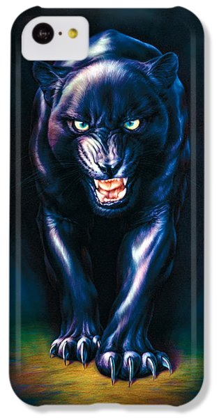Stalking Panther IPhone 5c Case by Andrew Farley