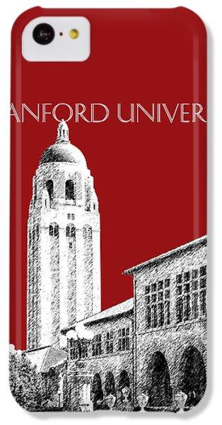 Stanford University - Dark Red IPhone 5c Case by DB Artist