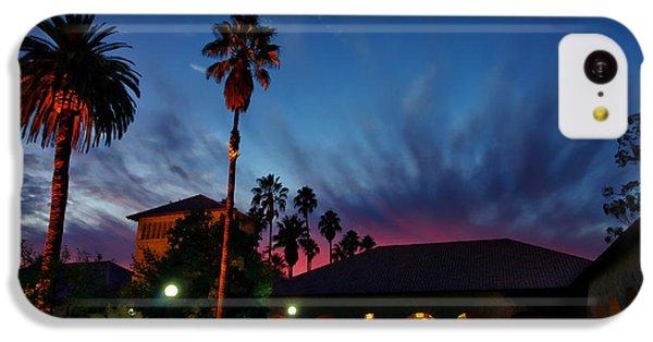 Stanford University Quad Sunset IPhone 5c Case by Scott McGuire